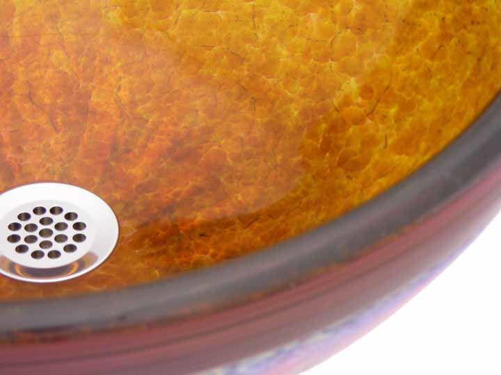 Blown Glass Sink | Molten Honey