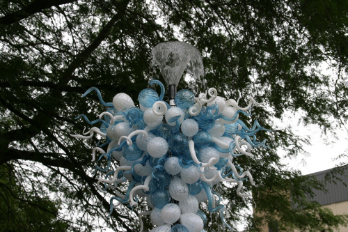 Picture of Garden Art Fountain Glass Sculpture