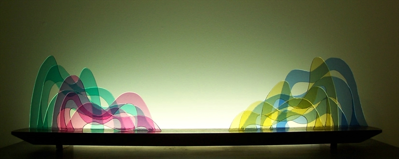 Picture of Seuss Glasscape Lighting Sculpture