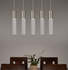 Picture of Linear Chandelier | Bamboo 5