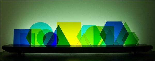 Picture of Euclid Glasscape Lighitng Sculpture