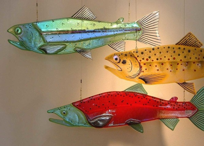 Picture of Dichroic Rainbow Trout