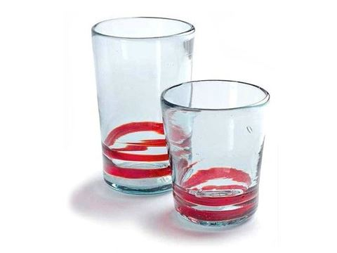 Serpentine Tapered Tumblers - 2 Sizes
