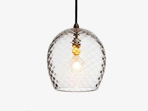 Blown Glass Pendant Light   Stella