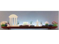 Classical Hush Glasscape Lighting Sculpture