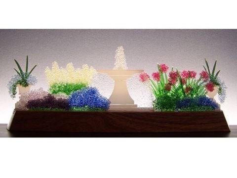Whispering Hush Glasscape Lighting Sculpture