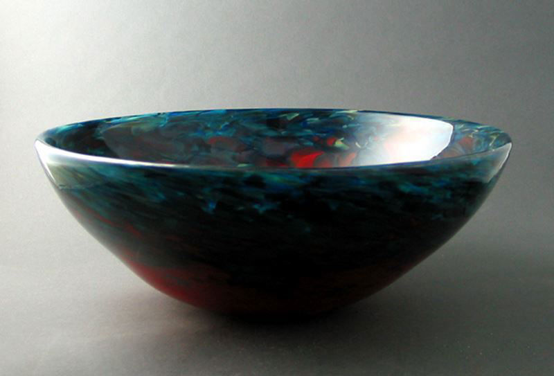 Picture of Blown Glass Sink - Caliente