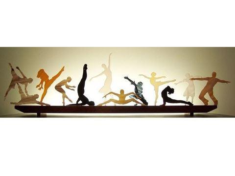 Terpsichore III Glasscape Lighting Sculpture