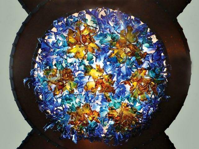 Picture of Aurora Custom Blown Glass Chandelier