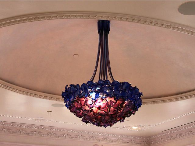 Picture of Empire Blown Glass Chandelier