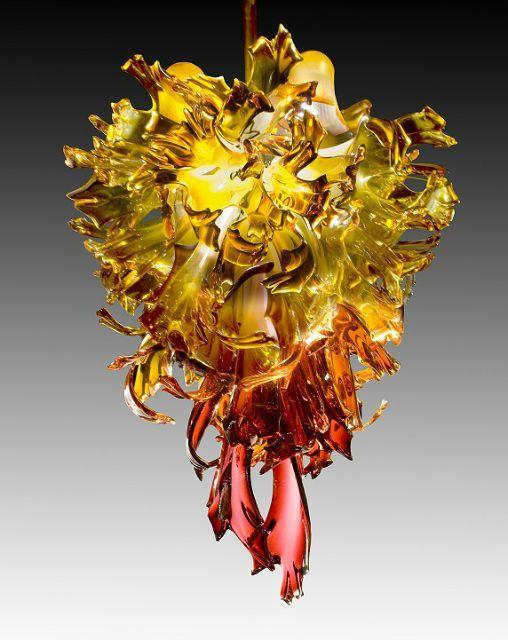 Picture of Nova Blown Glass Chandelier
