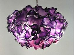 Picture of Pomegranate Blown Glass Chandelier