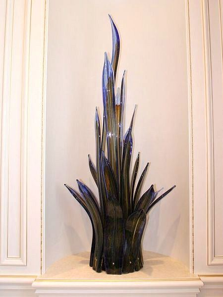 Picture of Sea Grass Blown Glass Sculpture