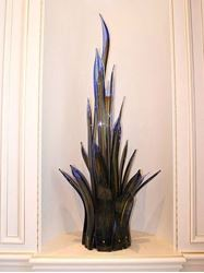 Sea Grass Blown Glass Sculpture