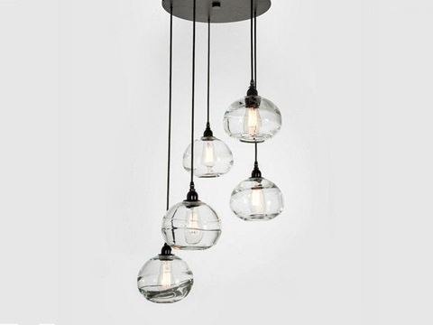 Pendant Chandelier | Coppa 5