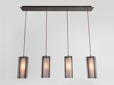 Linear Chandelier | Downtown Mesh 4