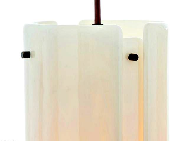 Picture of Linear Chandelier | Textured Glass | 4 pc