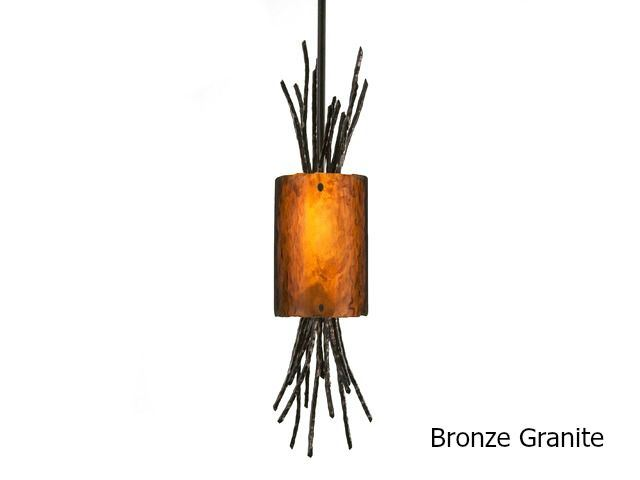 Picture of Pendant Light | Ironwood Thistle