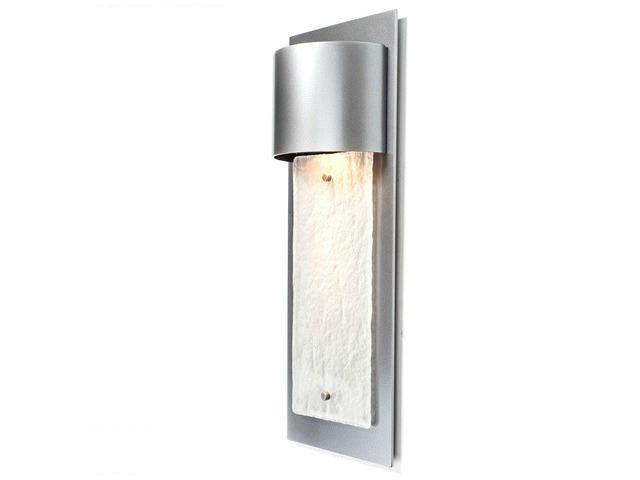 Picture of Short Panel Outdoor Flat Cover Sconce