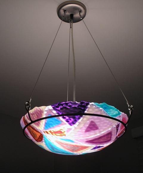 Picture of Scrap Glass Pendant II