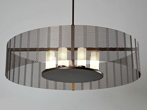 Drum Chandelier | Downtown Mesh III