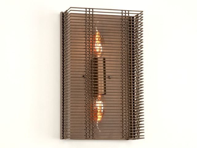 Picture of Wall Sconce | Downtown Mesh I