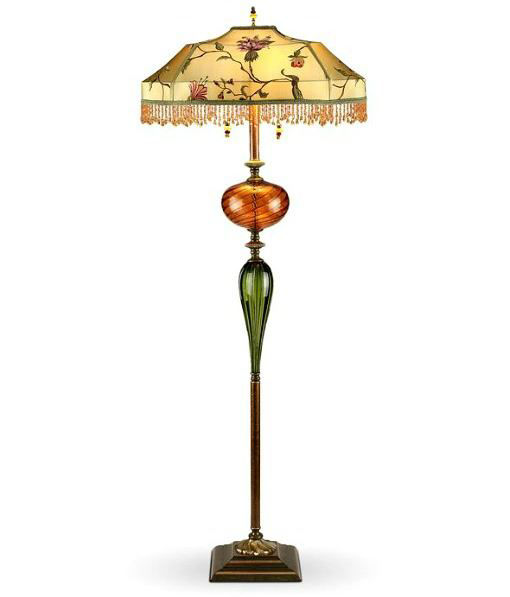 Picture of Kinzig Floor Lamp - James - Beaded