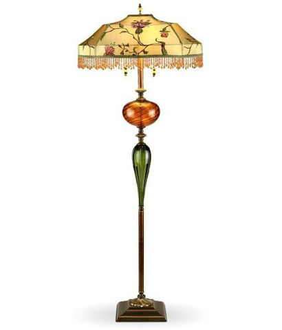 Kinzig Floor Lamp - James - Beaded
