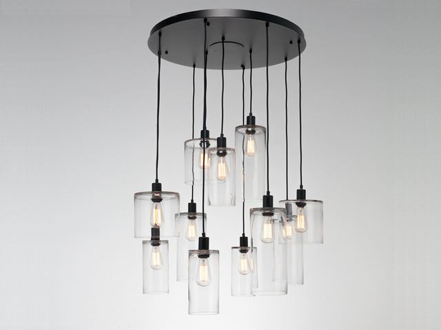 Picture of Pendant Chandelier   Apothecary 8