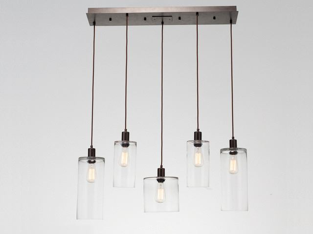 Picture of Linear Chandelier | Apothecary