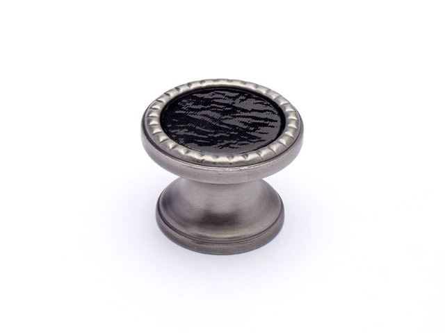 Picture of Classico Glass and Metal Cabinet Knobs