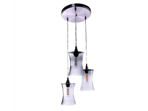 Atmospheric Series Hourglass Pendant Chandelier 3 pc