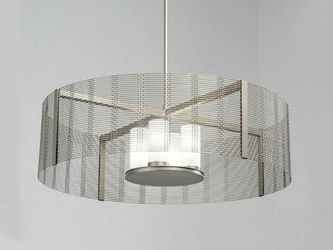Drum Chandelier | Downtown Mesh V