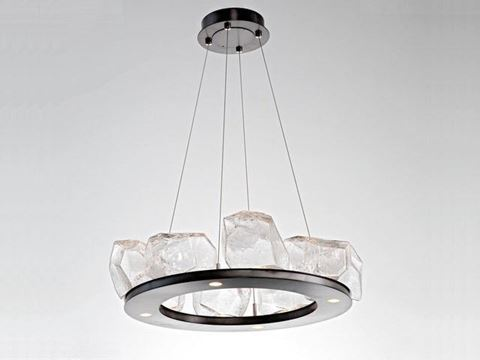 Ring Chandelier | Gem 8