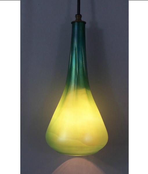Picture of Pendant Light |  Optic Hanging Phoenix Morph | Emerald