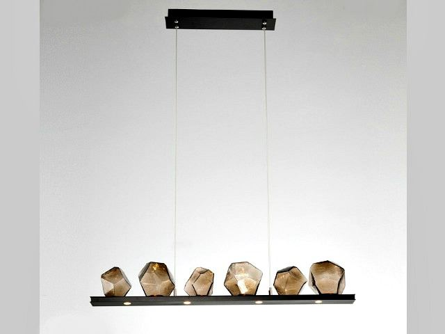 Picture of Linear Chandelier | Gem 6