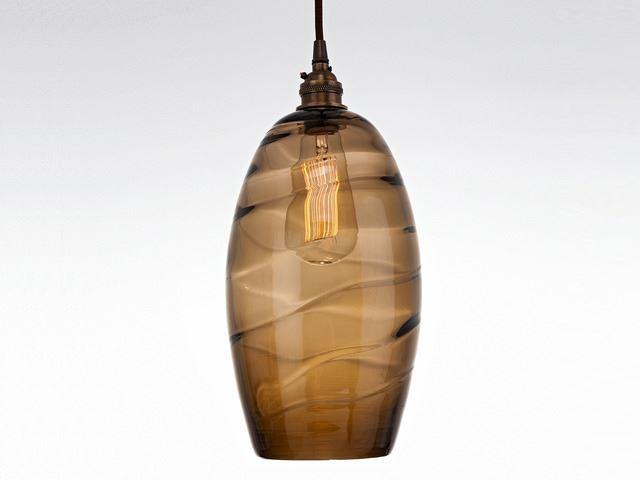 Picture of Blown Glass Pendant Light   Ellisse