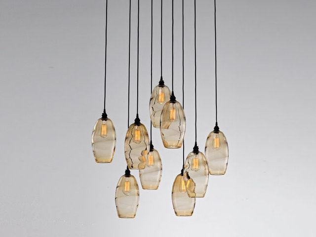 Picture of Pendant Chandelier | Ellisse 9