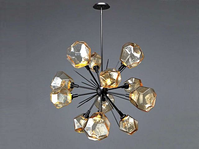 Picture of Starburst Chandelier | Gem