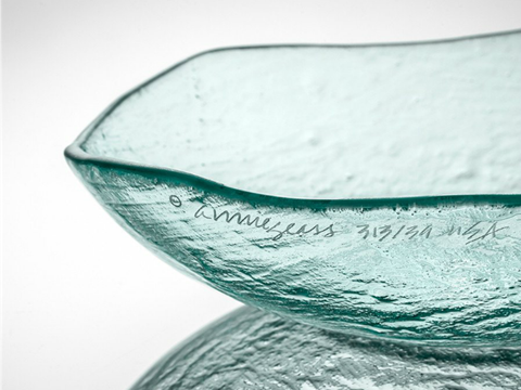 Salt Medium Glass Bowl
