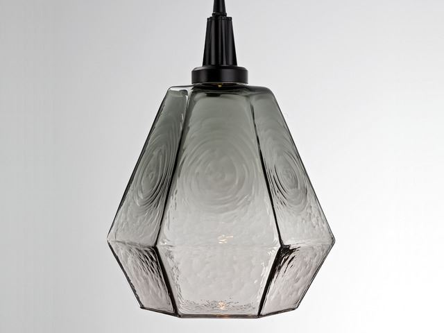Picture of Blown Glass Pendant Light | Hedra