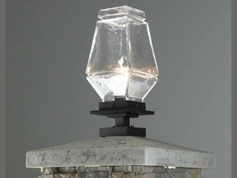 Outdoor Signal Pier Mount Lantern