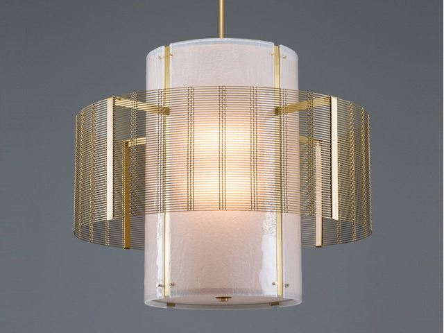 Picture of Drum Chandelier | Downtown Mesh II