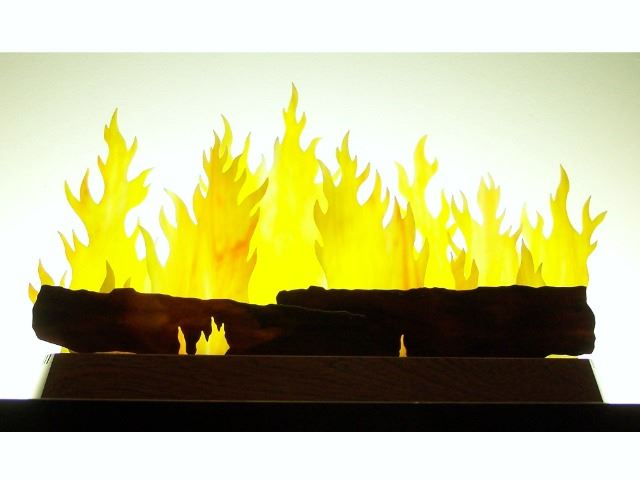Picture of Hearth Glasscape Lighting Sculpture