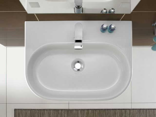Picture of Bissonnet Pro Area Semi-Pedestal Ceramic Sink