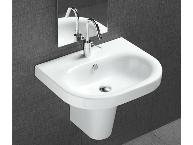 Picture of Bissonnet Pro Daytime 55 Semi-Pedestal Ceramic Sink