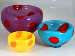 Dot Bubble Bowls