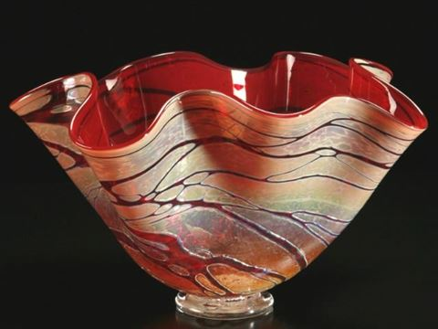 Golden Gem Fluted Bowls
