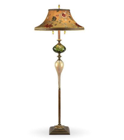 Kinzig Floor Lamp   Freddy in Green