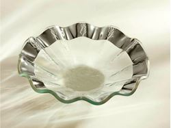 Ruffle Small Glass Bowl